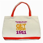 omega -photo-5 www.psixi.ws Classic Tote Bag (Red)