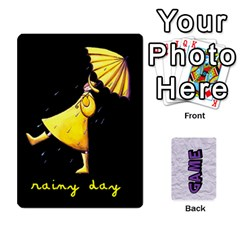 Memory Game With Your Own Photos   Playing Cards By Carmensita   Playing Cards 54 Designs   0o2xfgec09q2   Www Artscow Com Front - Spade5