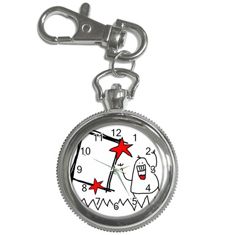 Garabatos Key Chain Watch 01 By Carol   Key Chain Watch   4a9katpjzxb8   Www Artscow Com Front