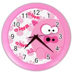 Animaland clock 01 - Color Wall Clock