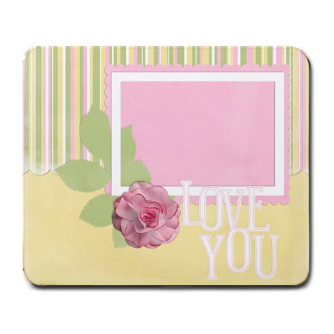 Love Always Mouse Pad by Christine Schultz Front