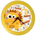 Animaland clock 03 - Color Wall Clock