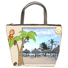 Tropical Bucket Bag By Lil    Bucket Bag   2vwe8w8s0nly   Www Artscow Com Front