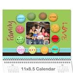 2011 Hepworth Calender - Wall Calendar 11  x 8.5  (12-Months)