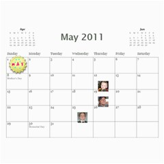2011 Hepworth Calender By Annette   Wall Calendar 11  X 8 5  (12 Months)   327elfeo7nma   Www Artscow Com May 2011