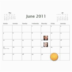 2011 Hepworth Calender By Annette   Wall Calendar 11  X 8 5  (12 Months)   327elfeo7nma   Www Artscow Com Jun 2011