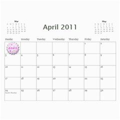 2011 Hepworth Calender By Annette   Wall Calendar 11  X 8 5  (12 Months)   327elfeo7nma   Www Artscow Com Apr 2011