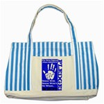 sigma -photo-14 Striped Blue Tote Bag