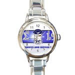 sigma -photo-13 Round Italian Charm Watch