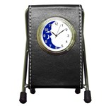 sigma -photo-11 www.psixi.ws Pen Holder Desk Clock