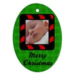 Christmas - Ornament - Oval Ornament (Two Sides)