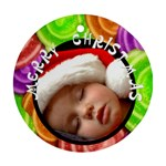 Christmas  -  Ornament - Round Ornament (Two Sides)