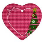 Christmas Tree ornament - Ornament (Heart)