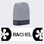 Rachel - Rubber stamp - Name Stamp