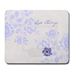 Porcelain Blues mousepad - Large Mousepad