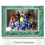 rayhons calendar 2011 - Wall Calendar 11  x 8.5  (12-Months)