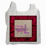 fantasia santa baby pinks 2 sided recycle bag - Recycle Bag (Two Side)