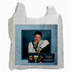 Happy holidays 2 sided recycle bag - Recycle Bag (Two Side)