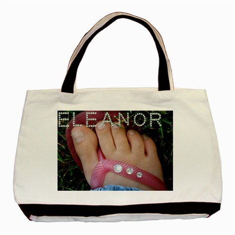 Eleanor s Bag By Amy Wilcox   Basic Tote Bag   Ohk5tpf1k6z8   Www Artscow Com Front