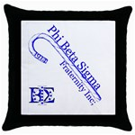 sigma 4_canes_peppermint_singl Throw Pillow Case (Black)