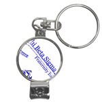 sigma 4_canes_peppermint_singl Nail Clippers Key Chain