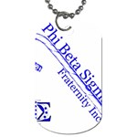 sigma 4_canes_peppermint_singl Dog Tag (One Side)