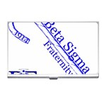 sigma 4_canes_peppermint_singl Business Card Holder
