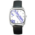 sigma 4_canes_peppermint_singl Square Metal Watch