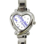 sigma 4_canes_peppermint_singl Heart Italian Charm Watch