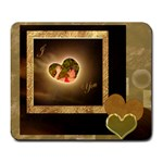 I heart you pg 152 Large Mousepad