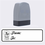 From-To 2 - Rubber stamp - Name Stamp