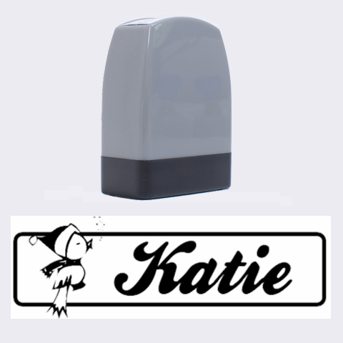 Katie   Rubber Stamp By Carmensita   Name Stamp   2tjp1nj8ho0c   Www Artscow Com 1.4 x0.5  Stamp
