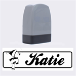Katie - Rubber stamp - Name Stamp