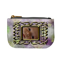 Iris Mini Coin Purse By Joan T   Mini Coin Purse   Jqn4zpffx6ek   Www Artscow Com Front