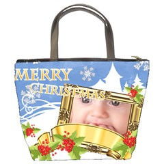 Xmas Bag By Joely   Bucket Bag   Xgsuvot75950   Www Artscow Com Back
