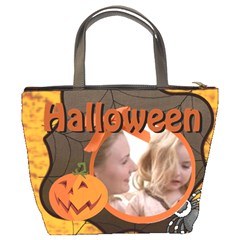 Halloween By Joely   Bucket Bag   0khitvyoavfo   Www Artscow Com Back