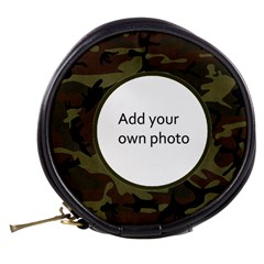 Camo Mini Makeup Bag by Jen Back