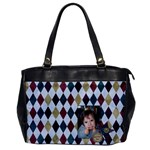 bag1 - Oversize Office Handbag (One Side)