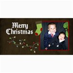 christmas cards1 - 4  x 8  Photo Cards