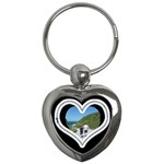 zipper  heart keychain - Key Chain (Heart)