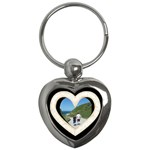 lace heart 2 keychain - Key Chain (Heart)