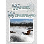 Winter Wonderland Card - Greeting Card 5  x 7