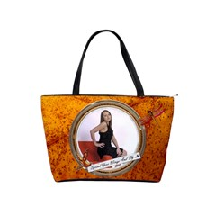 Spread Your Wings Shoulder Handbag By Lil    Classic Shoulder Handbag   P0kt20ifmvq1   Www Artscow Com Front
