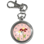 two flowers watch - Key Chain Watch