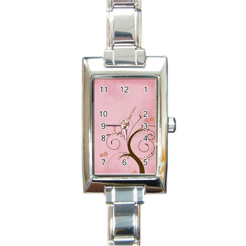 Watch3 By Sheena   Rectangle Italian Charm Watch   V4qidg3nf520   Www Artscow Com Front
