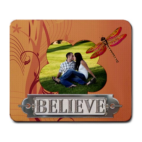 Believe Large Mouspad By Lil    Large Mousepad   C5jitbdp1hm9   Www Artscow Com Front