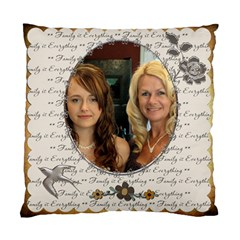 My Family 2 Sided Cushion Case By Lil    Standard Cushion Case (two Sides)   5glqhbfvon5i   Www Artscow Com Back