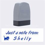 Stamp - Just a note from - Name Stamp