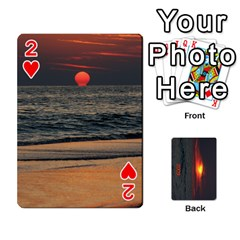 2009 Destin By Laura Rejko   Playing Cards 54 Designs   7n24bbbllby9   Www Artscow Com Front - Heart2