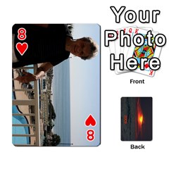2009 Destin By Laura Rejko   Playing Cards 54 Designs   7n24bbbllby9   Www Artscow Com Front - Heart8